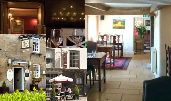 Restaurants in the Cotswolds town of Burford