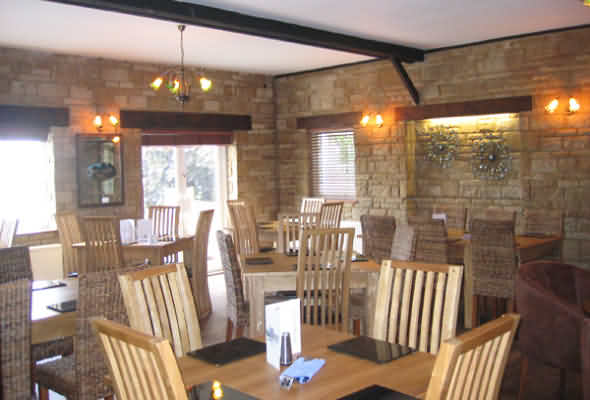 Restaurant at The Edgemoor Inn near Painswick
