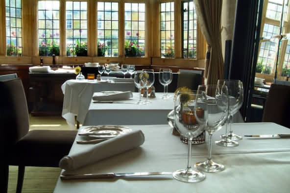 Main Dining Hall at the Lygon Arms Hotel, Broadway