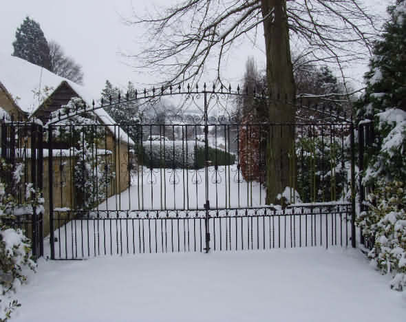 Gates to Orchard Farm