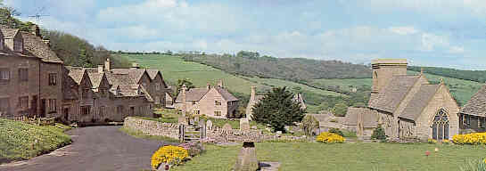 The Cotswold Village of Snowshill