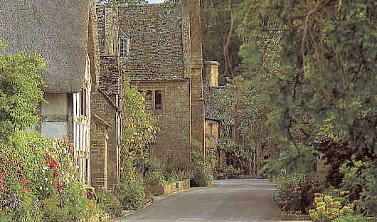 the ancient village of Stanton - one of the most beautiful villages in the Cotswolds
