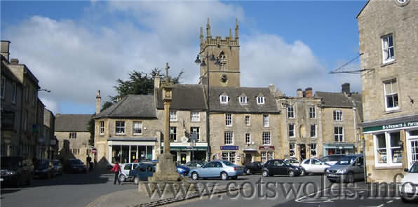 Picture of the Market Square at Stow-on-the-Wold