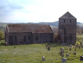 The Templar Church of St. Michaels at Garway