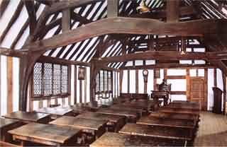 Big School on the first floor of the Guild Hall