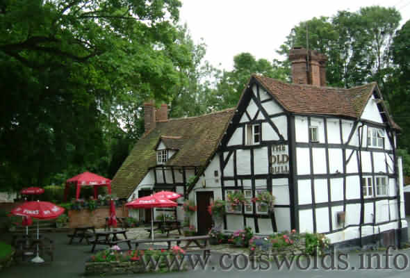 The Old Bull Inn at Inkberrow in Worcestershire