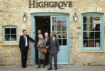 Prince Charles's shop, Highgrove, in Tetbury