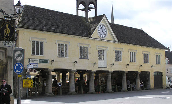 Market House in Tetbury