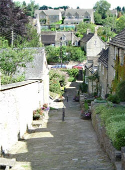 Thye Chipping Steps at Tetbury