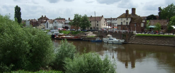 The Riverside at Upton-upon-Severn