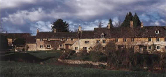 The Village of Little Barrington in the Cotswolds