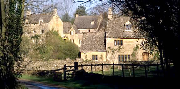 The Village of Turkdean in the gloucester Cotswolds