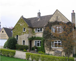 Situated on the edge of the quiet, unspoilt village of Windrush, 3 miles west of Burford.