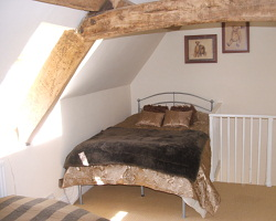 Park Terrace Attic Bedroom