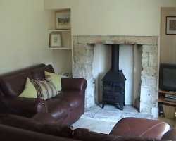 Park Terrave Lounge with log burner