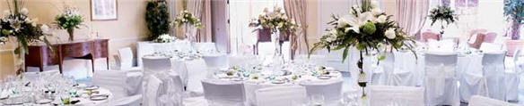 Wedding Reception at the Dormy House Hotel in the Cotswolds
