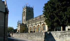 St. Peters Church at Winchcombe