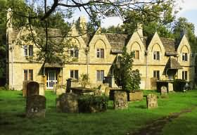 Almshouses at St Mary's Church