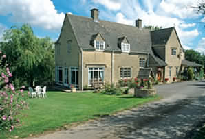 The farm encompasses the banks of the meandering River Windrush which provides all rooms with a beautiful view.