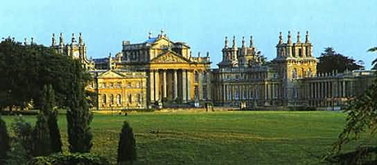 Blenheim Palace at Woodstock