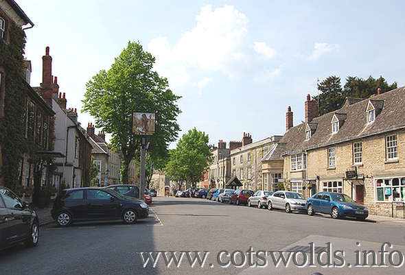 Woodstock in the Oxfordshire Cotswolds