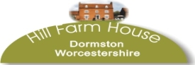 Hill Farm House at Dormston Worcestershire