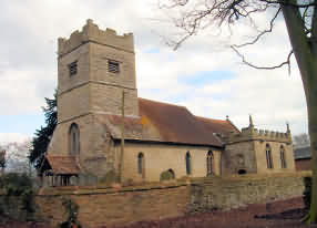 All Saints Church at Spetchley
