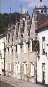 Almshouses in Wotton-under-Edge
