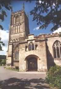 St. Mary's church in Wotton-under-Edge